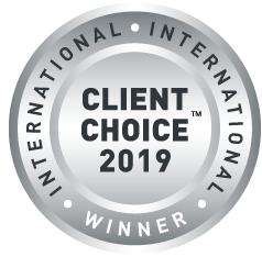 client choice badge